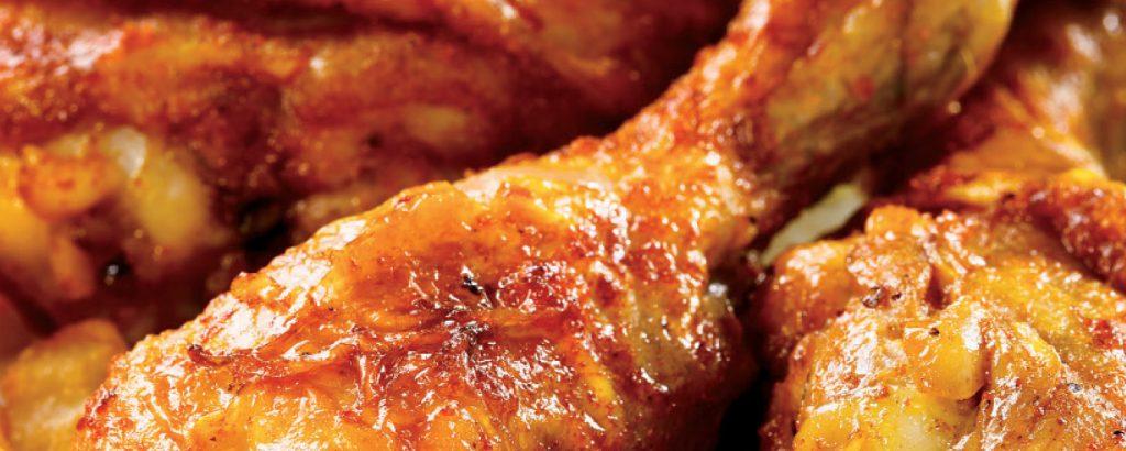 Απλά ψητά μπουτάκια κοτόπουλου