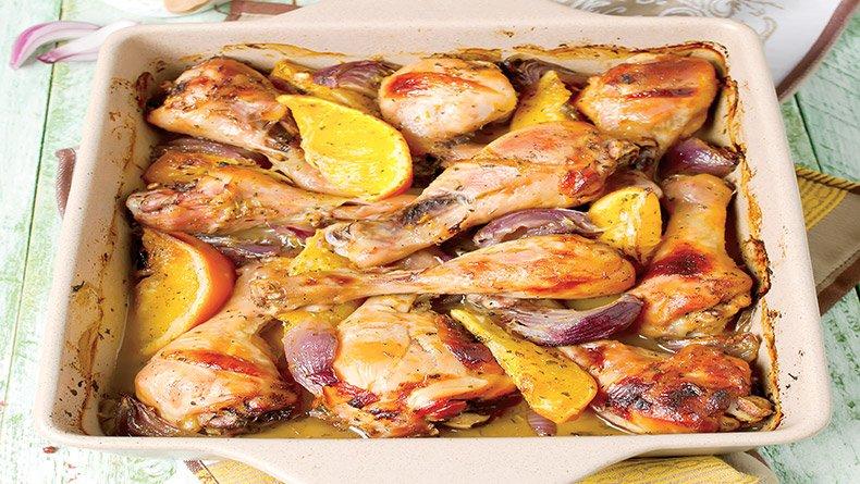 Μπούτι κοτόπουλο ψητό στο φούρνο