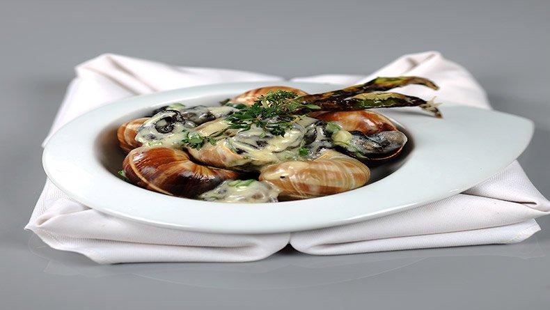 Πικάντικα σαλιγκάρια με θυμάρι