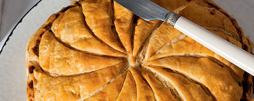 H πίτα του βασιλιά Galette des rois - Γαλλική βασιλόπιτα