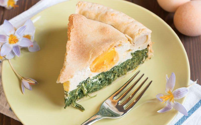 Πασχαλινή πίτα με αυγά (Torta Pasqualina)