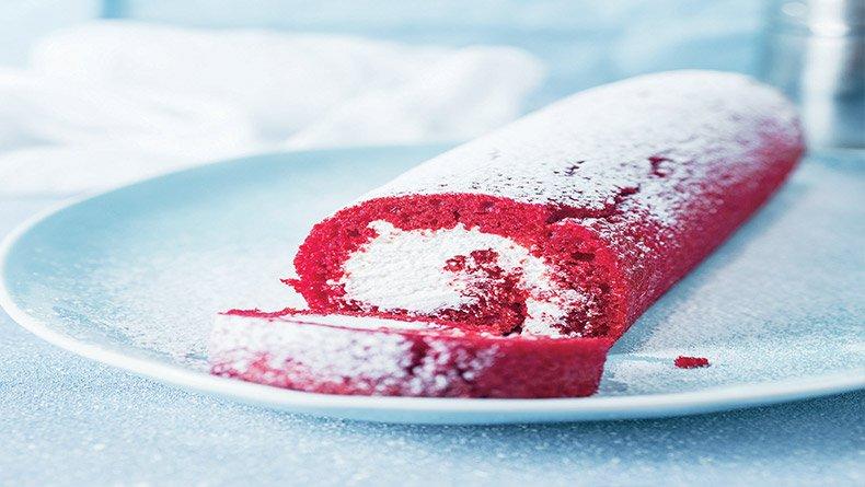 Red Velvet Swiss Roll
