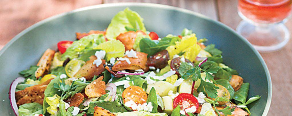 Αραβική σαλάτα φατούς