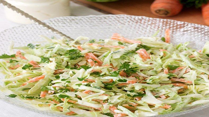 Σαλάτα κόλσλοου (Coleslaw)
