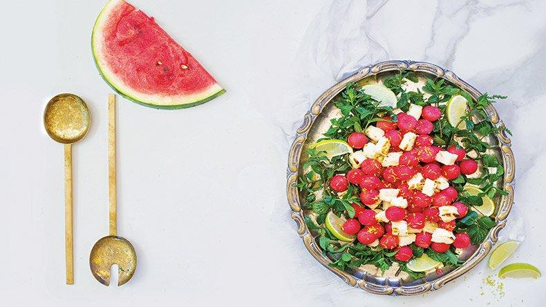 Σαλάτα με καρπούζι