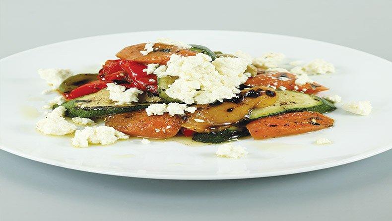 Σαλάτα με λαχανικά σχάρας