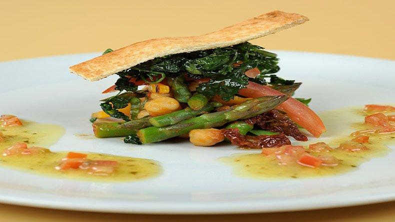 Σαλάτα με ρεβιθιά