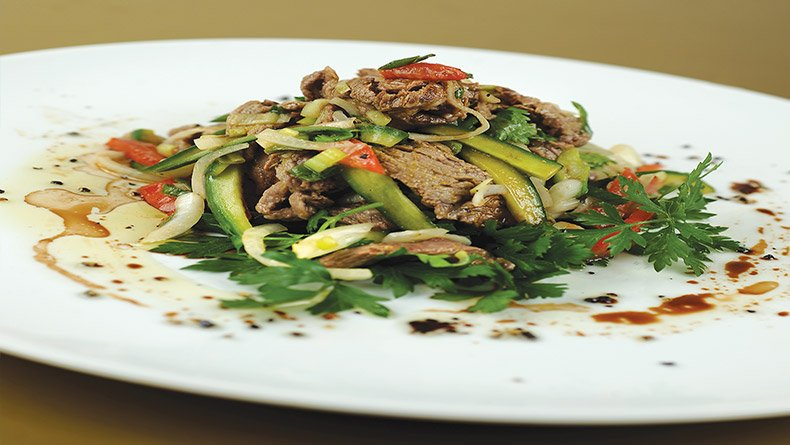 Σαλάτα βοδινού Ταϊλάνδης