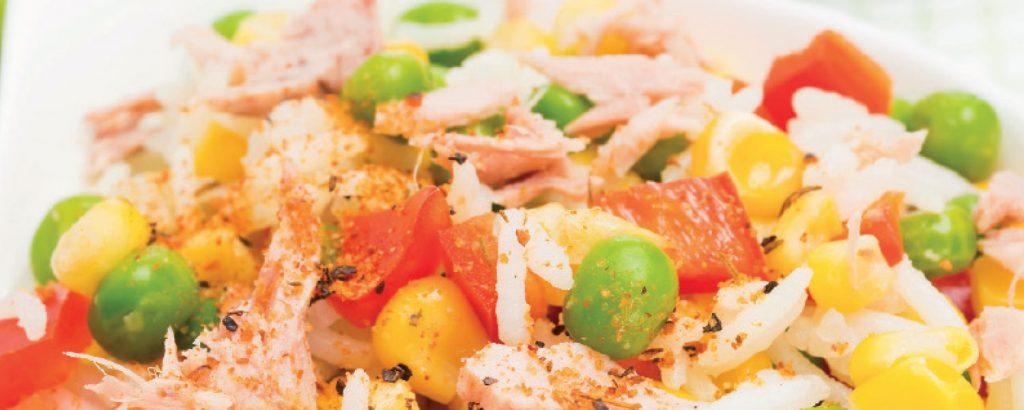 Σαλάτα με τόνο και λαχανικά