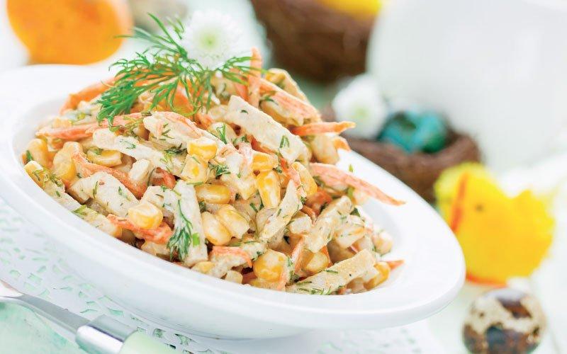 Πασχαλινή σαλάτα με κοπόπουλο
