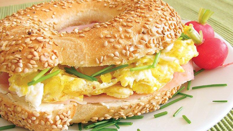 Σάντουιτς με ανακατεμένα αβγά