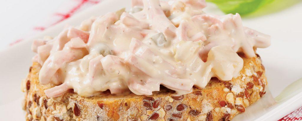 Σάντουιτς με μίγμα αλλαντικών