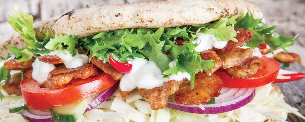 Σπιτικός λιβανέζικος βοδινός γύρος (Shawarma)