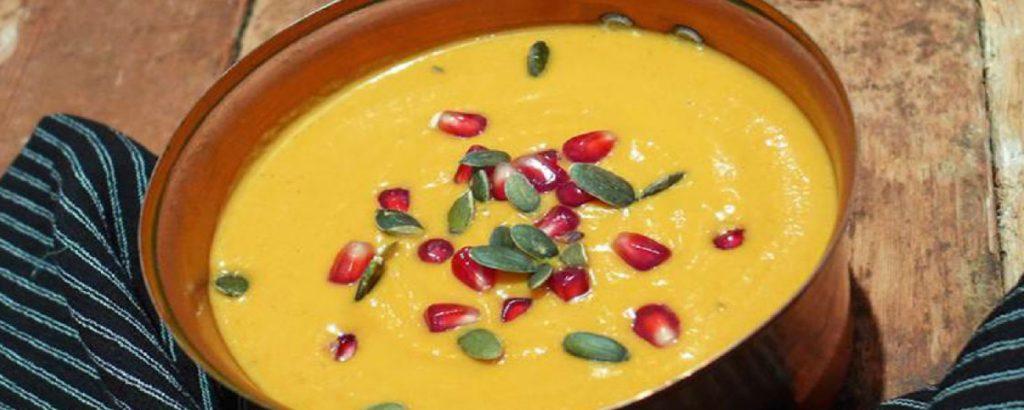 Σούπα με κολοκύθα
