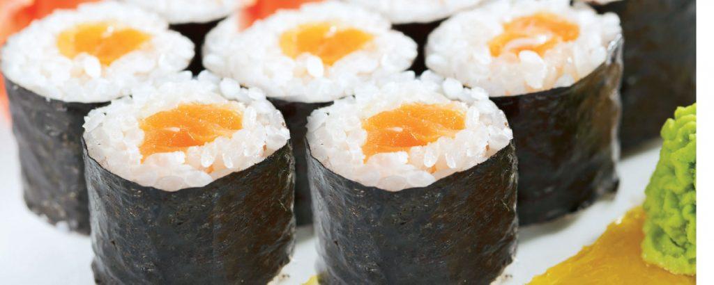 Μάκι σούσι με ψάρι