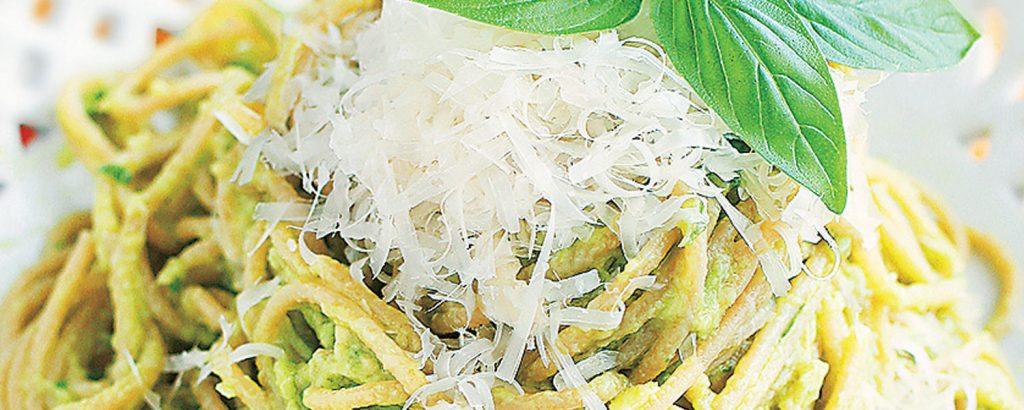 Σπαγέτι με αβοκάντο