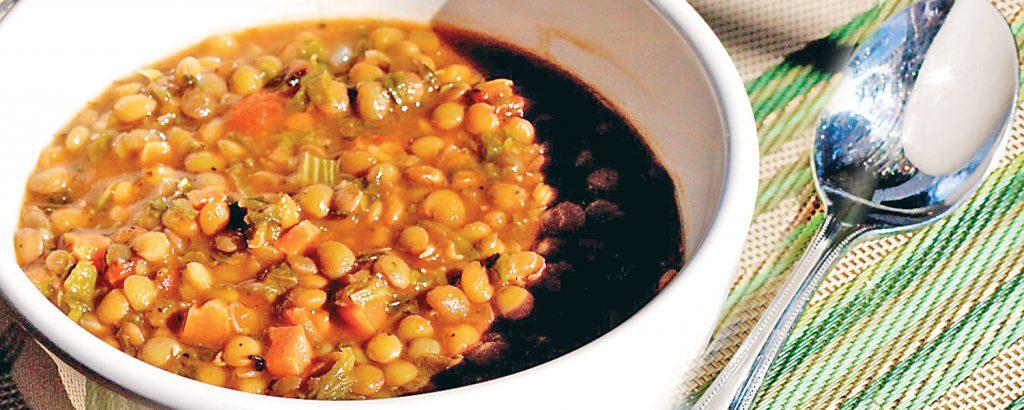 Ιταλική σούπα µε φακές