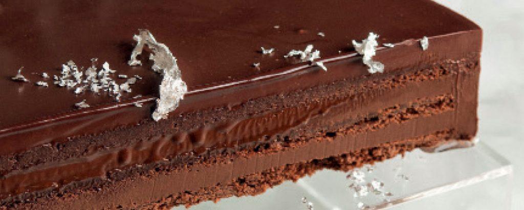 Τούρτα μπίτερ σοκολάτα με ρούμι (σύγχρονη εκδοχή)