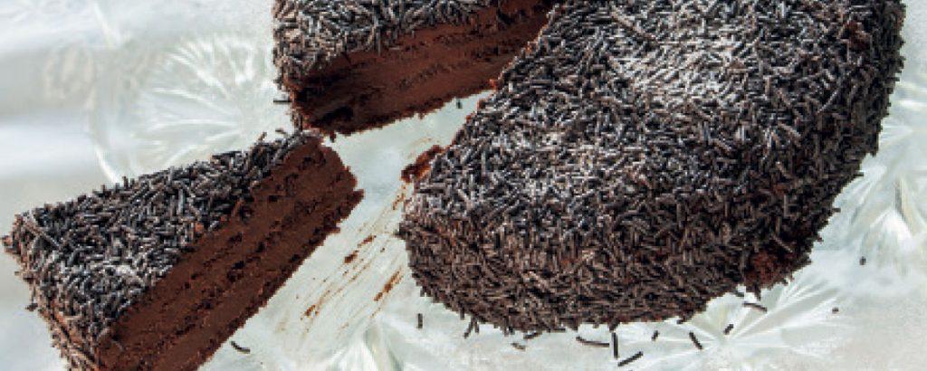 Τούρτα μπίτερ σοκολάτα με κονιάκ αλά παλαιά