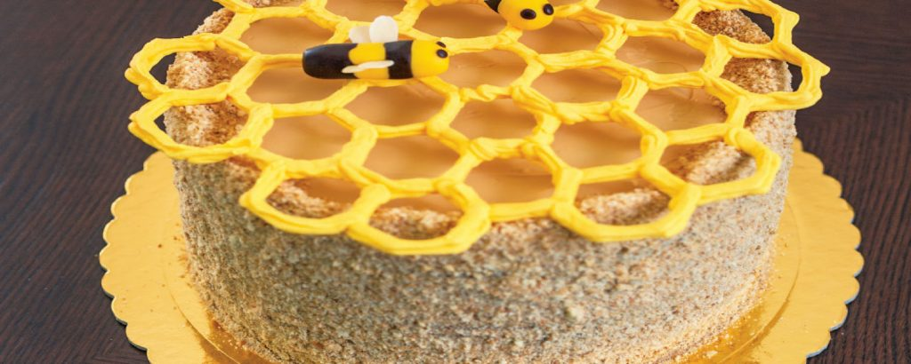 Τoύρτα Honey Cake