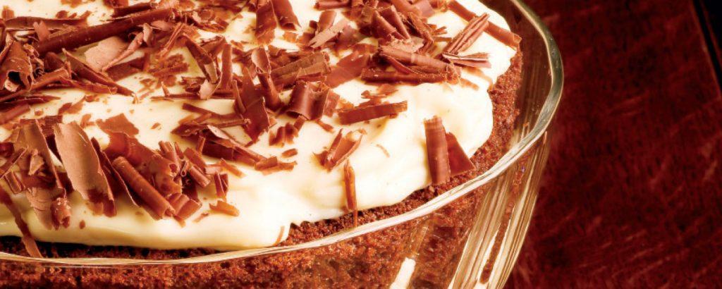 Trifle με σοκολάτα