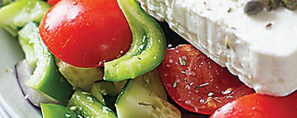 Κλασική χωριάτικη σαλάτα