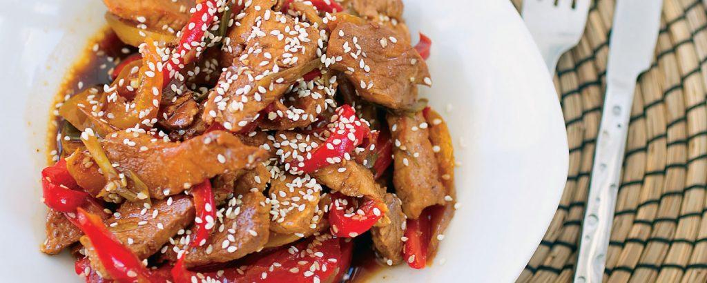 Βοδινό Stir-Fry με λαχανικά