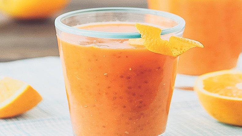 Χυμός πορτοκάλι – καρότο