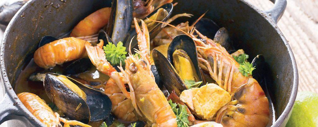 Ψαρόσουπα Μπουγιαμπές