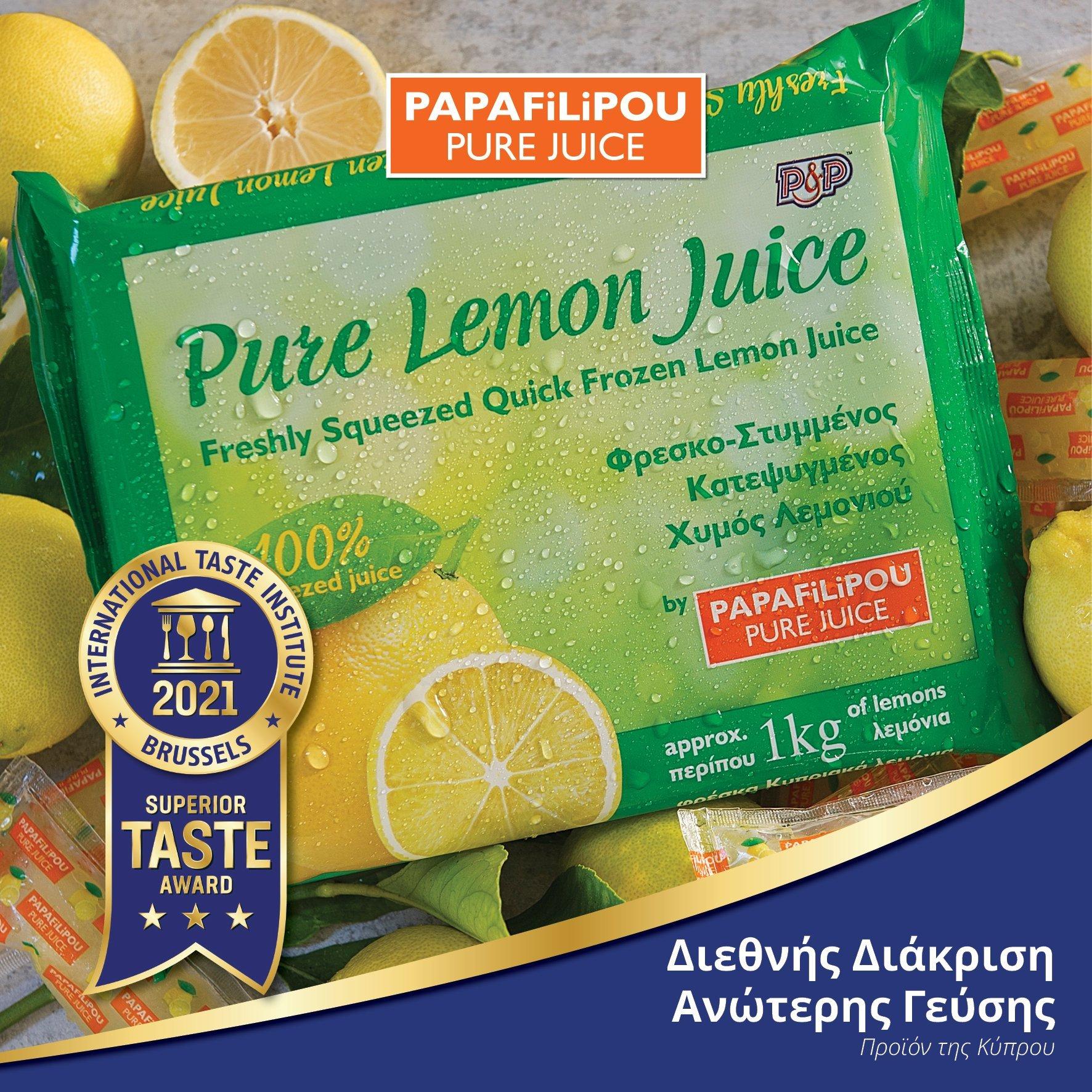 Final Pure Lemon Juice Award