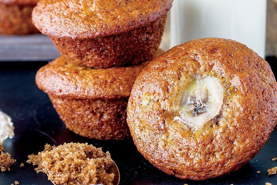 muffin-bananas